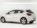 Vauxhall Astra SRi 2012–15 wallpapers