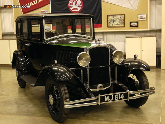 Vauxhall Cadet Saloon (VX/VY) 1930–33 wallpapers (640 x 480)