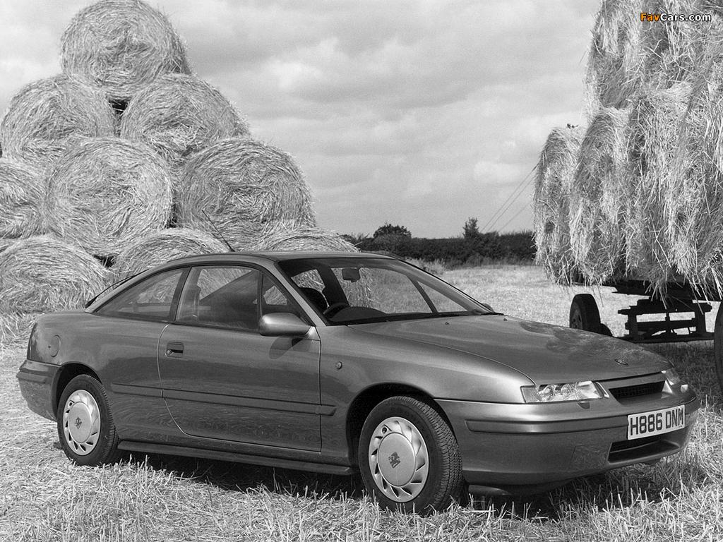 Pictures of Vauxhall Calibra 1990–94 (1024 x 768)