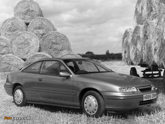 Pictures of Vauxhall Calibra 1990–94 (640 x 480)