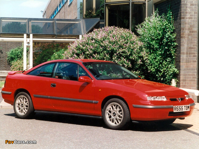 Pictures of Vauxhall Calibra SE9 1997 (640 x 480)