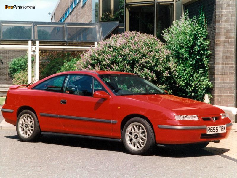Pictures of Vauxhall Calibra SE9 1997 (800 x 600)