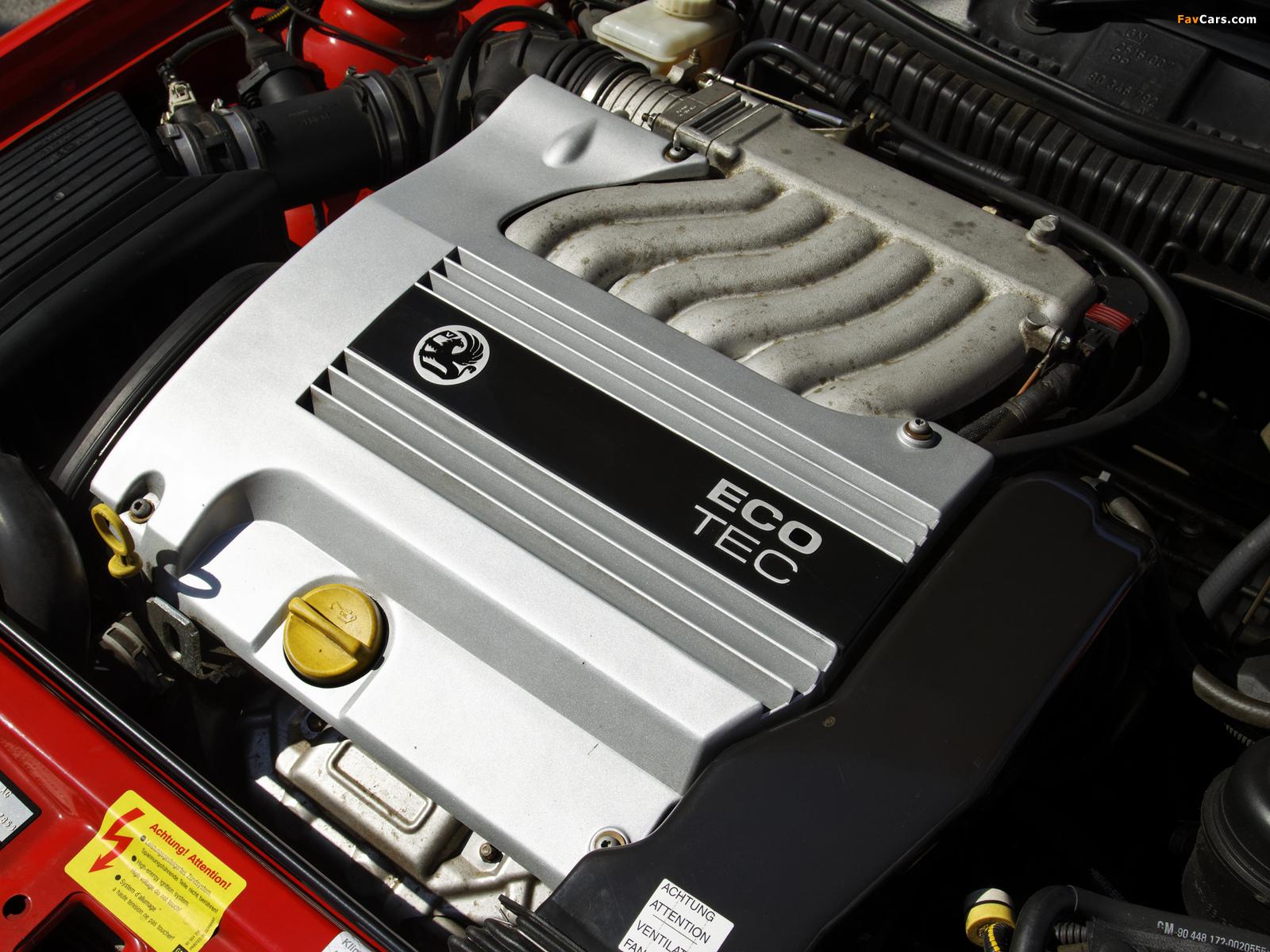 Pictures of Vauxhall Calibra SE9 1997 (1600 x 1200)