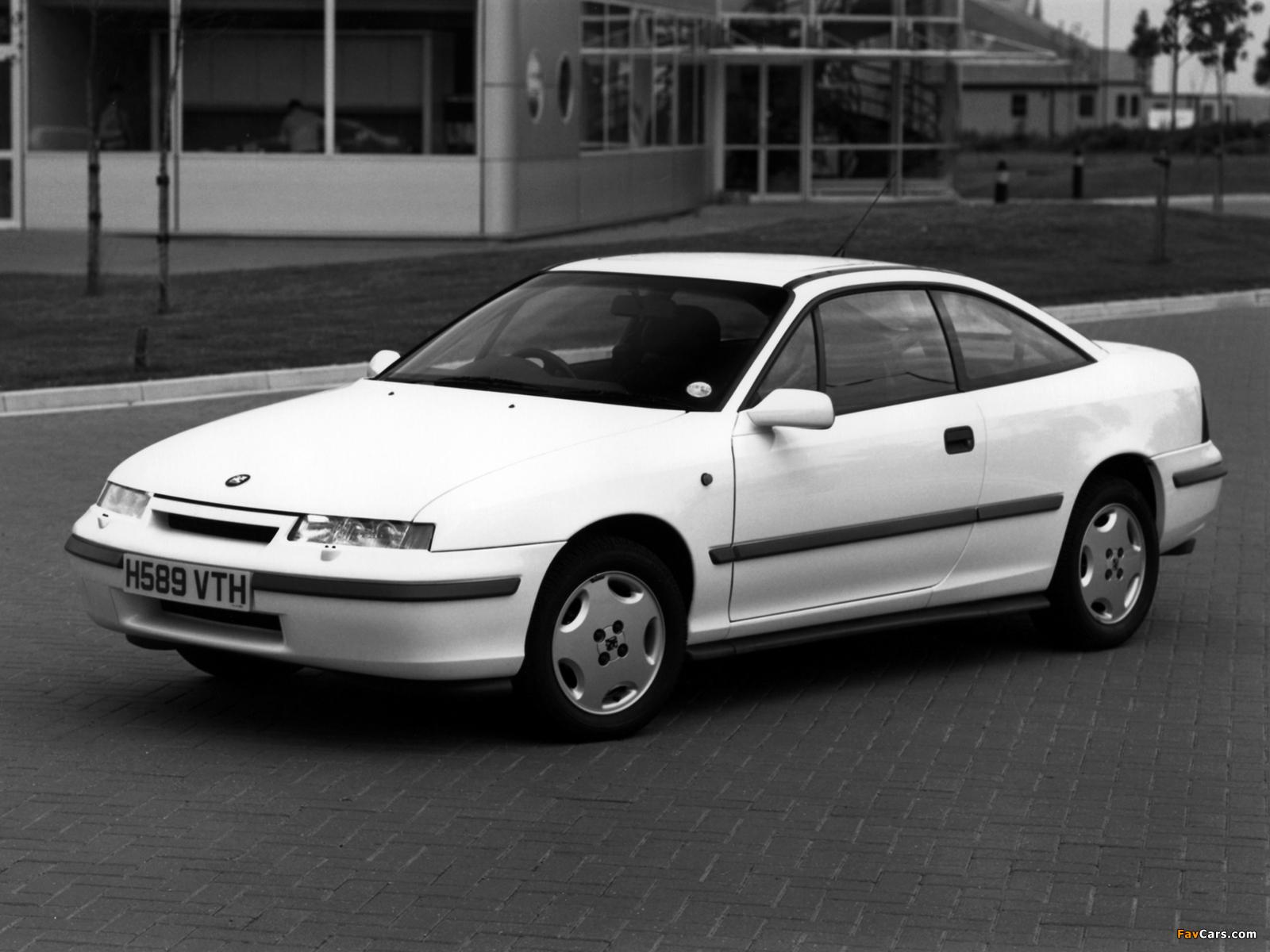 Vauxhall Calibra 1990–94 wallpapers (1600 x 1200)