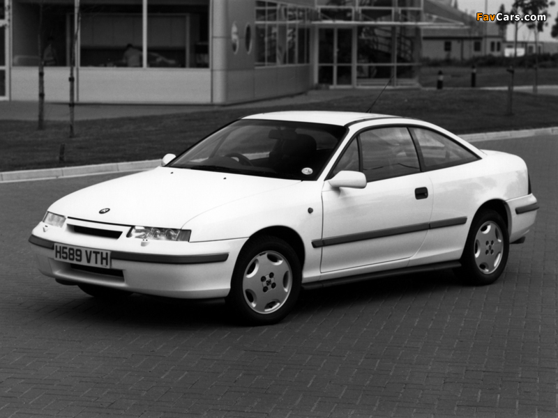 Vauxhall Calibra 1990–94 wallpapers (800 x 600)