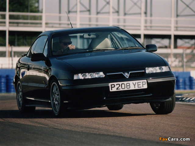 Vauxhall Calibra Turbo Limited Edition 1996 images (640 x 480)