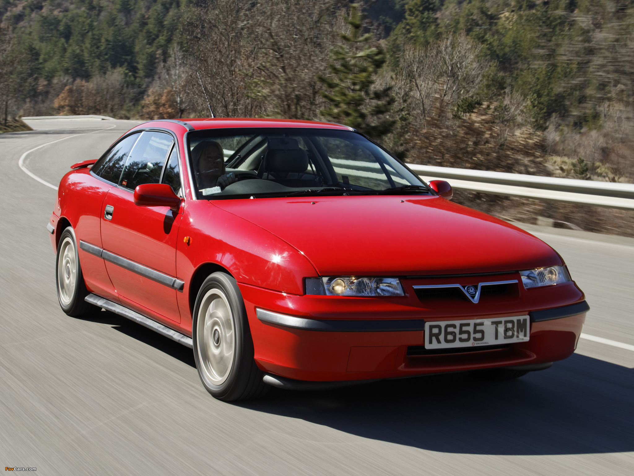 Vauxhall Calibra SE9 1997 wallpapers (2048 x 1536)