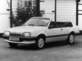 Photos of Vauxhall Cavalier Convertible 1986–88