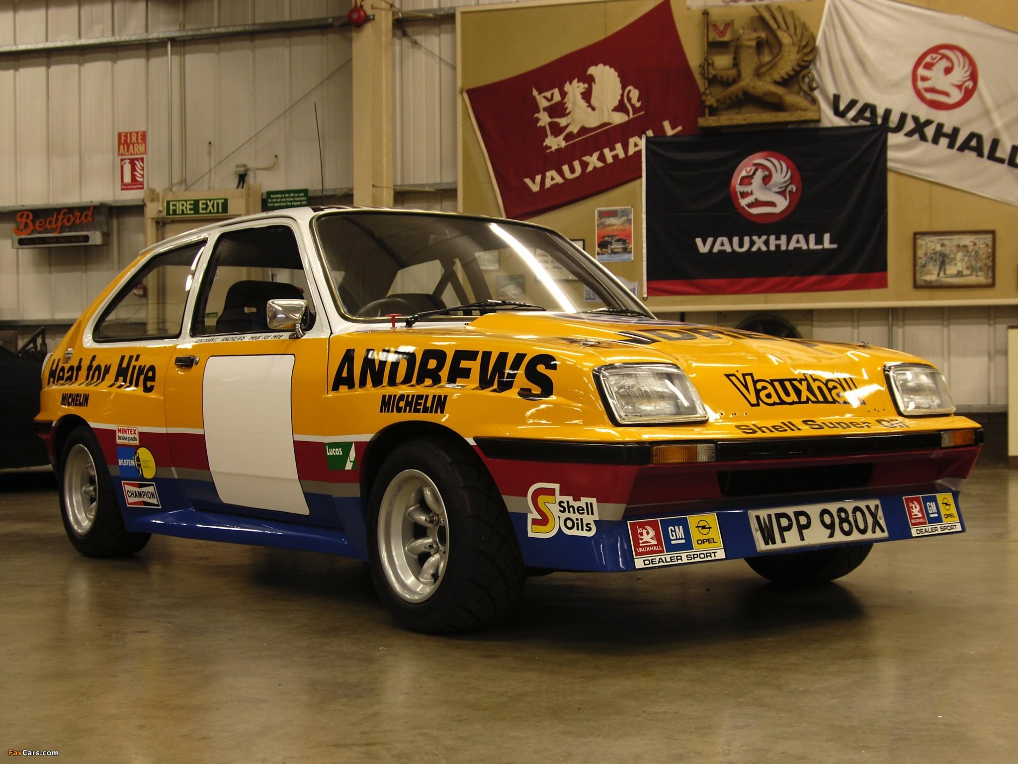 Photos of Vauxhall Chevette Rally Car 1977 (2048x1536)