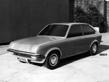 Vauxhall Chevette Hatchback Styling Model 1973 pictures