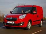 Pictures of Vauxhall Combo Cargo ecoFLEX (D) 2012