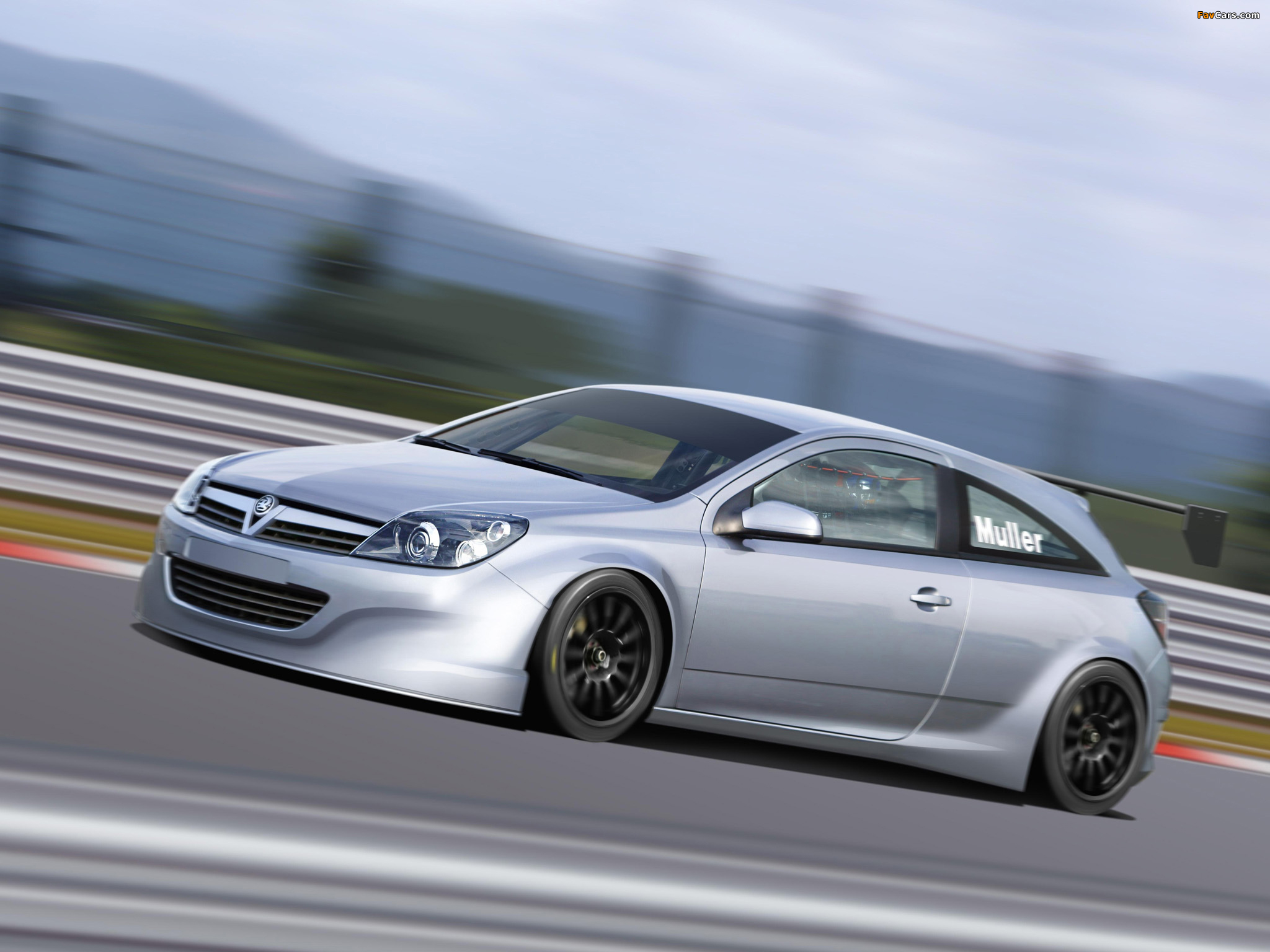 Vauxhall BTCC Astra Sport Hatch Concept 2005 wallpapers (2048 x 1536)