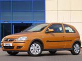 Photos of Vauxhall Corsa 3-door (C) 2003–06