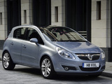 Photos of Vauxhall Corsa 5-door (D) 2006–09