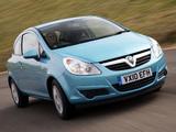 Photos of Vauxhall Corsa 3-door (D) 2006–09