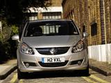 Photos of Vauxhall Corsa SRi (D) 2007