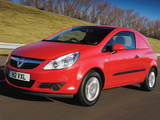 Photos of Vauxhall Corsavan (D) 2007–10