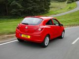 Pictures of Vauxhall Corsa 3-door (D) 2006–09