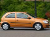 Vauxhall Corsa 3-door (C) 2003–06 photos