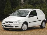 Vauxhall Corsavan (C) 2003–07 photos