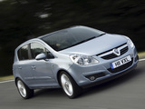 Vauxhall Corsa 5-door (D) 2006–09 photos