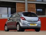 Vauxhall Corsa 3-door (D) 2006–09 photos