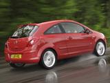 Vauxhall Corsa 3-door (D) 2006–09 pictures