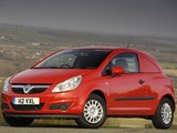 Vauxhall Corsavan (D) 2007–10 wallpapers