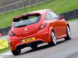 Vauxhall Corsa VXR (D) 2008–10 images