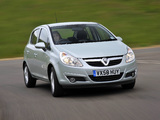 Vauxhall Corsa 5-door (D) 2009–10 pictures