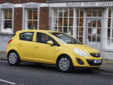 Vauxhall Corsa 5-door (D) 2010 images