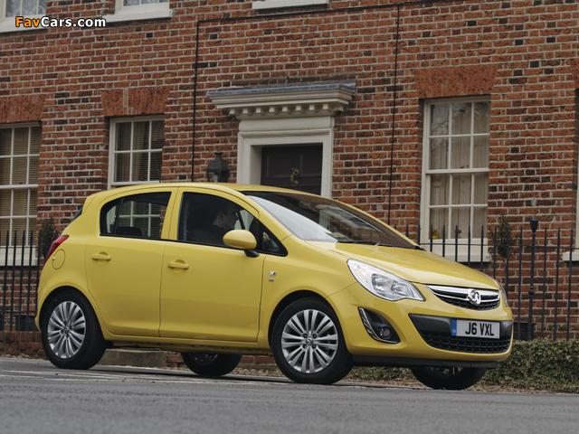 Vauxhall Corsa 5-door (D) 2010 photos (640 x 480)