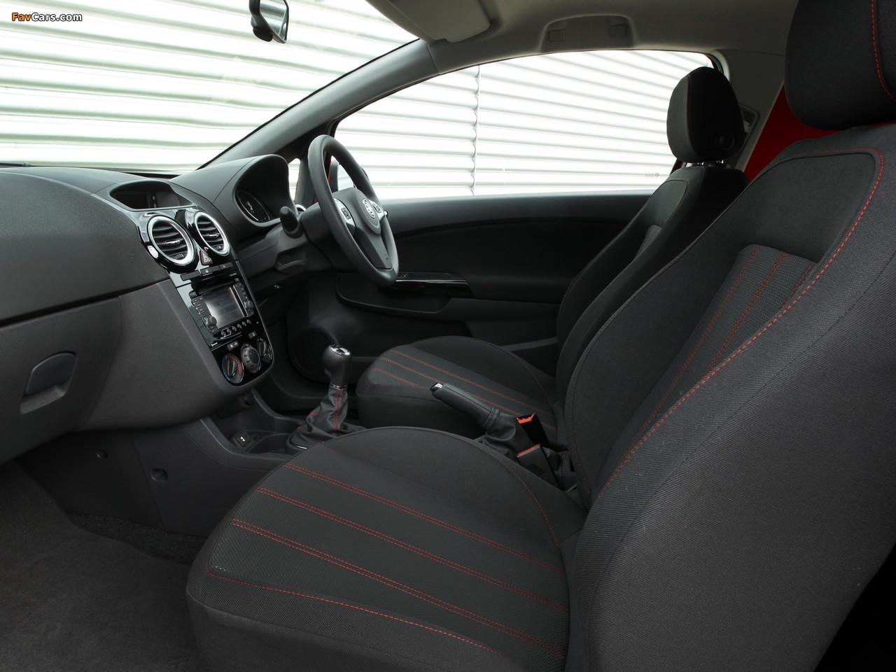 Vauxhall Corsavan (D) 2010 photos (1280 x 960)