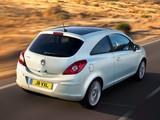 Vauxhall Corsa 3-door (D) 2010 pictures
