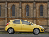 Vauxhall Corsa 5-door (D) 2010 pictures