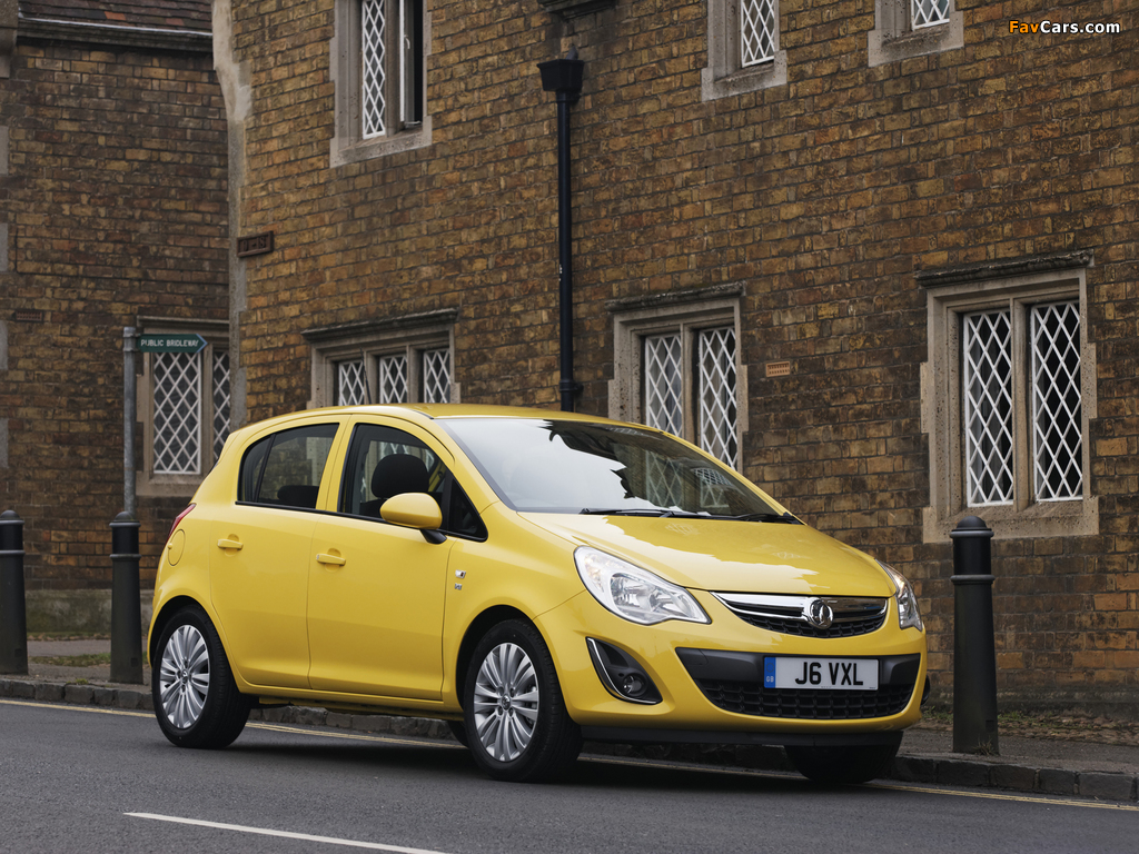 Vauxhall Corsa 5-door (D) 2010 wallpapers (1024 x 768)