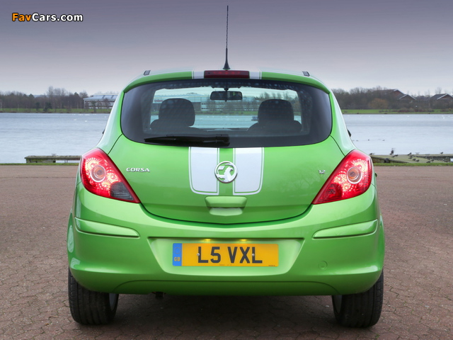 Vauxhall Corsa Sting (D) 2013 pictures (640 x 480)