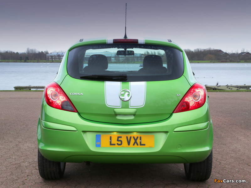 Vauxhall Corsa Sting (D) 2013 pictures (800 x 600)