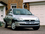 Vauxhall Corsa 3-door (B) 1993–2000 wallpapers
