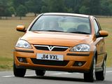 Vauxhall Corsa 3-door (C) 2003–06 wallpapers