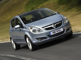 Vauxhall Corsa 5-door (D) 2006–09 wallpapers