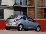 Vauxhall Corsa 3-door (D) 2006–09 wallpapers