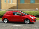 Vauxhall Corsavan (D) 2010 wallpapers