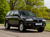 Vauxhall Frontera (B) 1998–2003 images