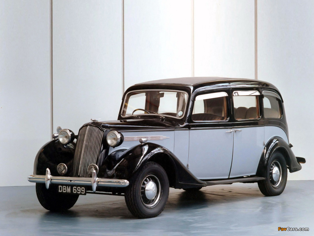 Images of Vauxhall GL-Type 25 HP Limousine 1940 (1024 x 768)