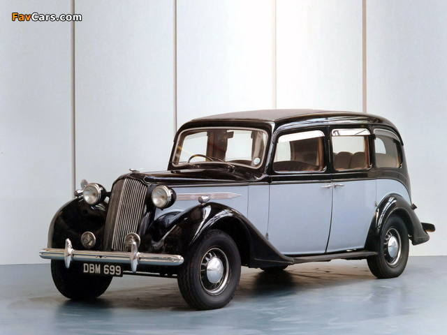 Images of Vauxhall GL-Type 25 HP Limousine 1940 (640 x 480)