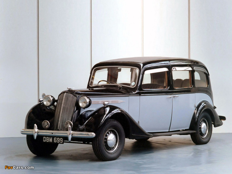 Images of Vauxhall GL-Type 25 HP Limousine 1940 (800 x 600)
