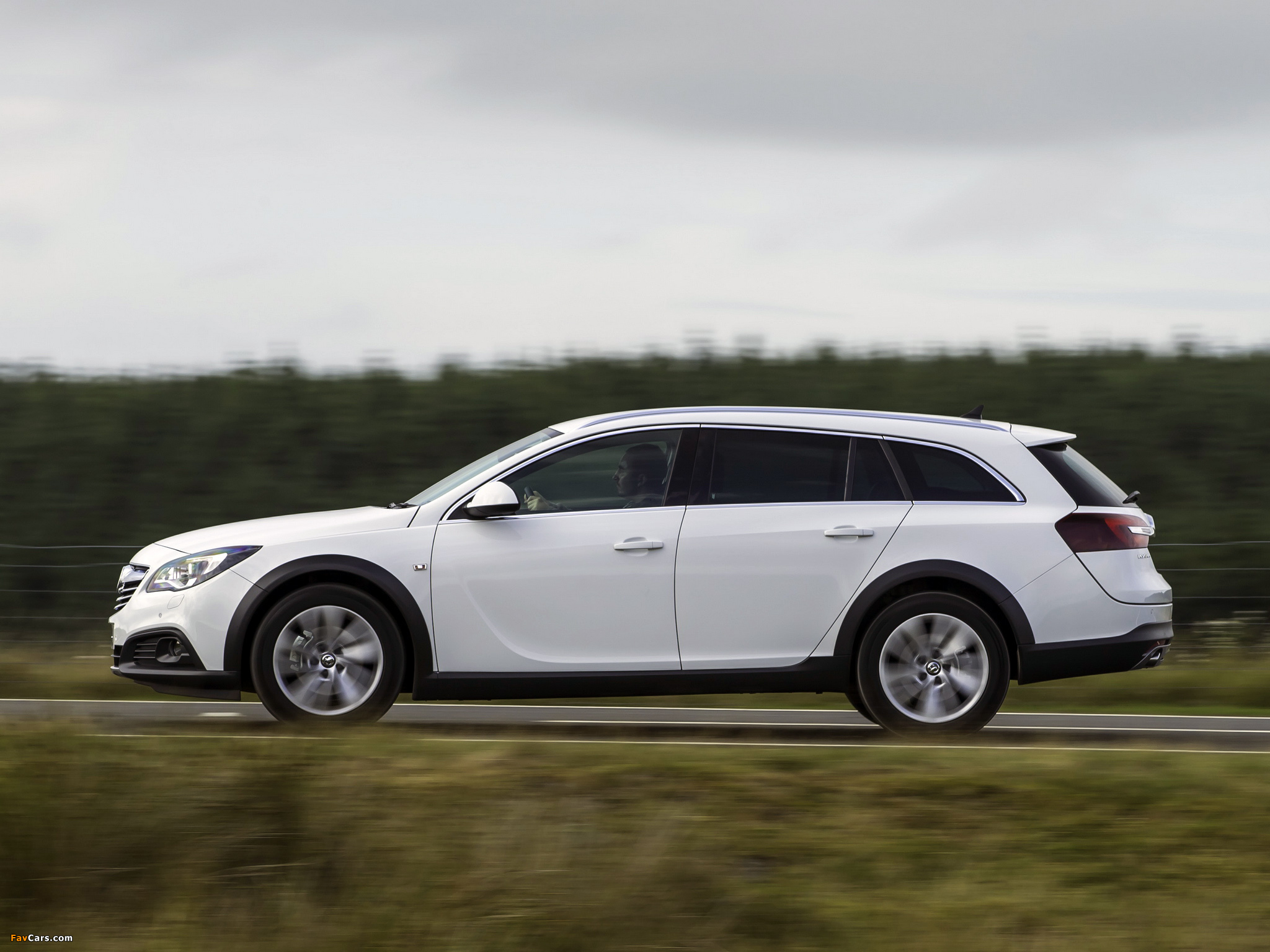 Images of Vauxhall Insignia Country Tourer 2013 (2048 x 1536)