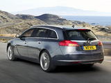 Vauxhall Insignia Sports Tourer 2008–13 images