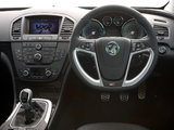 Vauxhall Insignia VXR 2009–13 images
